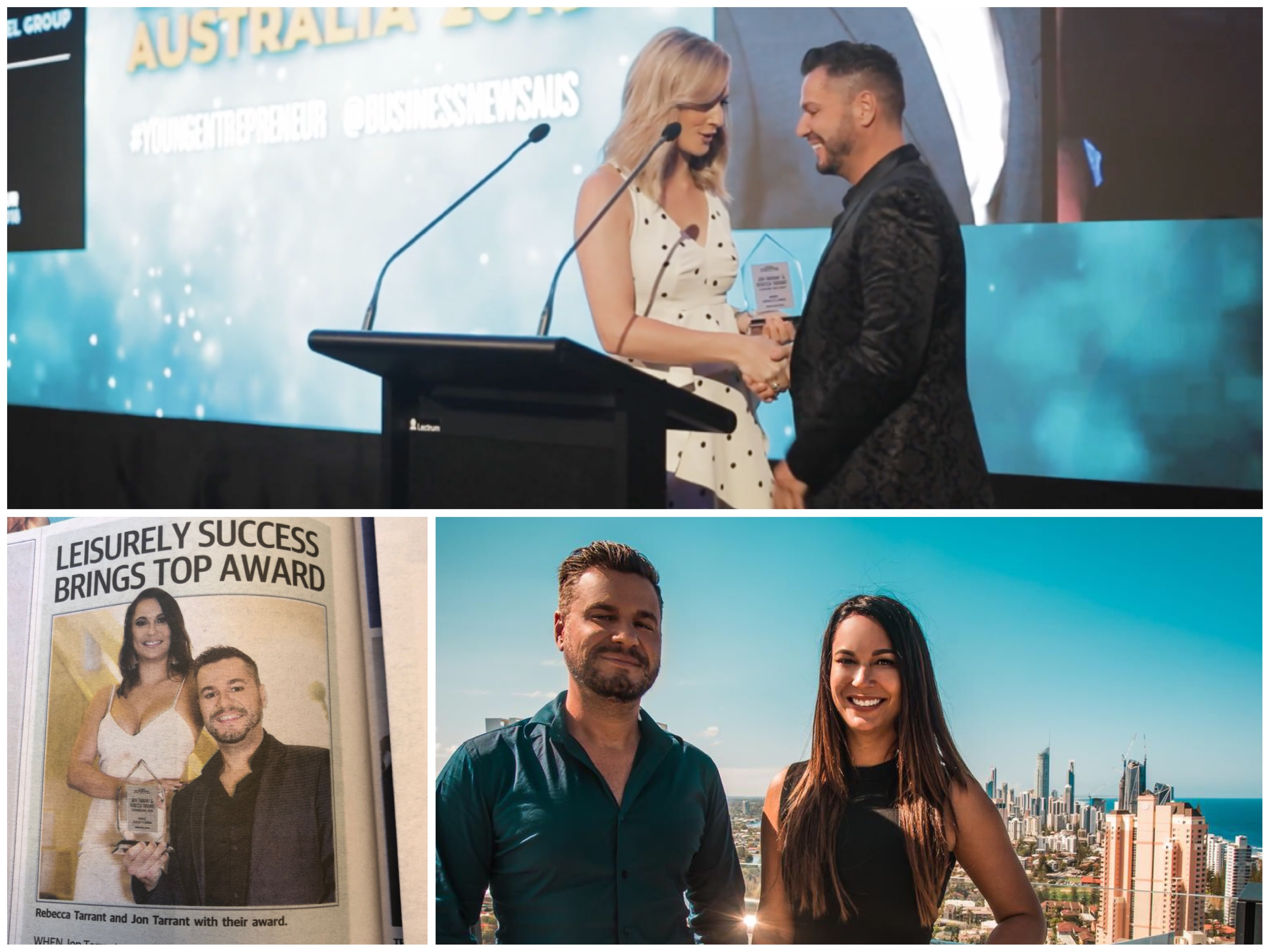 VIDEO: SIBLING DUO WIN SECOND 'YOUNG ENTREPRENEUR OF THE YEAR AWARD'