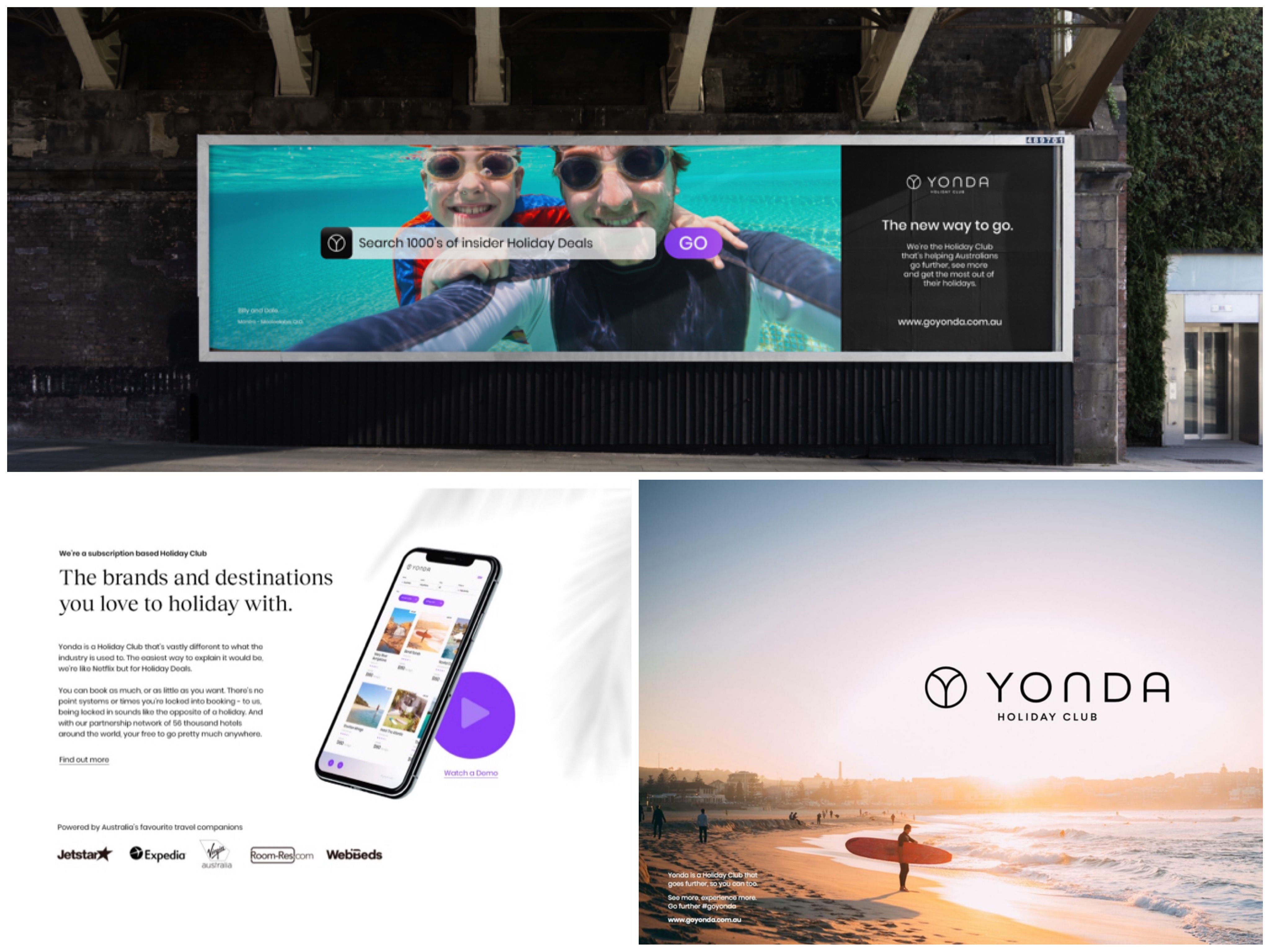 THE HOLIDAY GROUP ANNOUNCES NEW CO BRANDING ; INTRODUCING 'YONDA' - THE HOLIDAY GROUP THAT GOES FURTHER