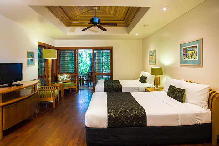 Island Suite Twin Room