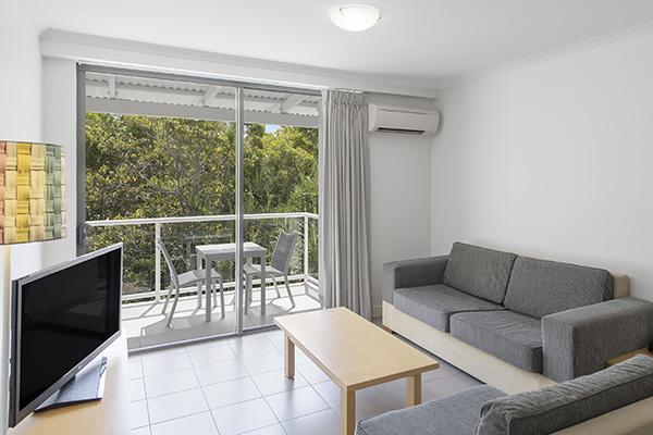 Two Bedroom Garden View