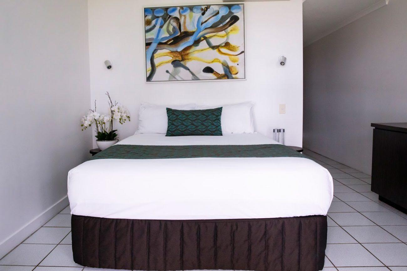 Beachfront Hotel Room