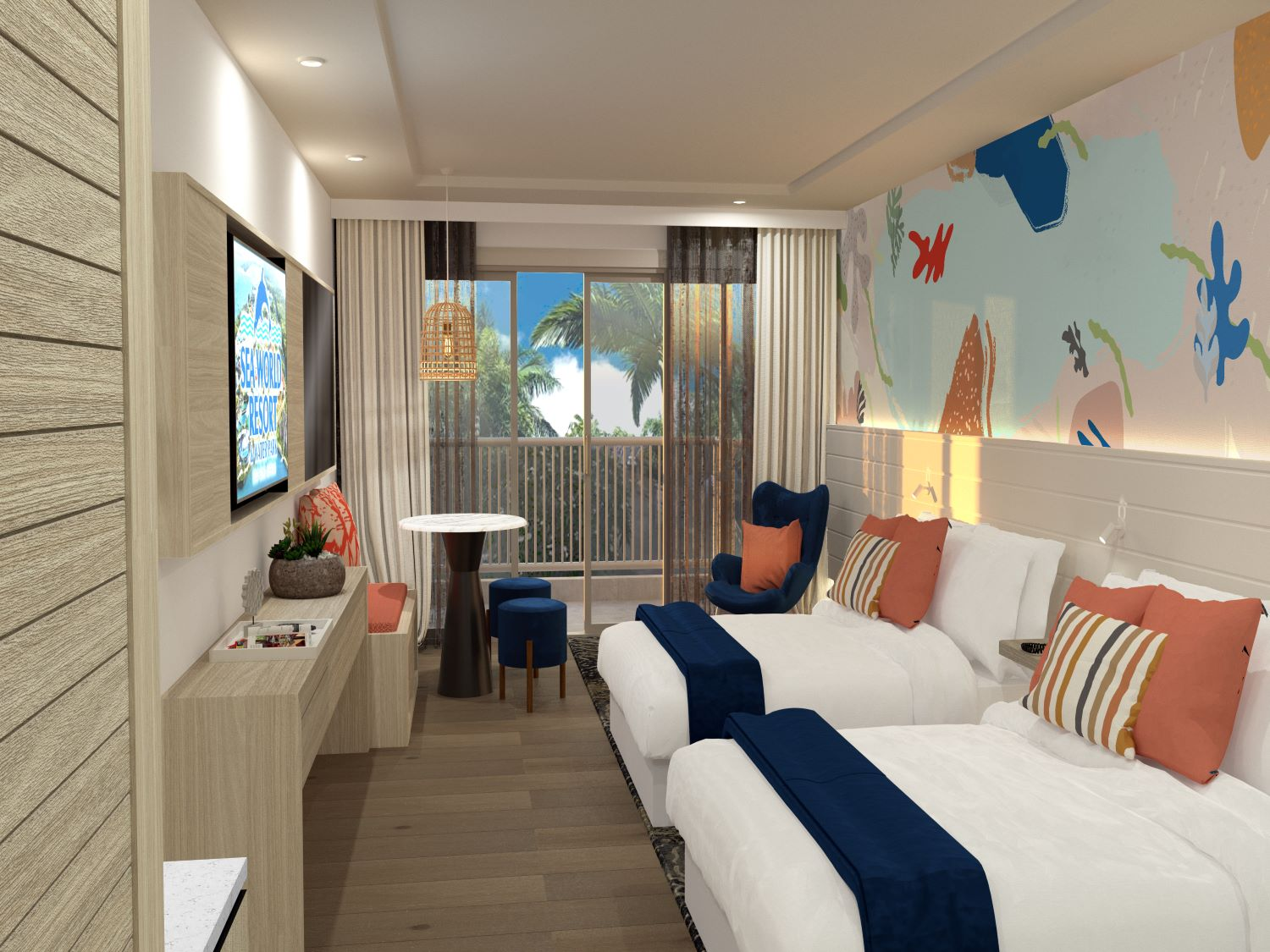 Deluxe Double Room - Theme Park Holiday Sale
